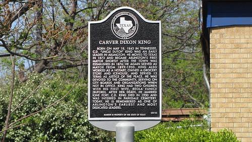 Carver Dixon King marker