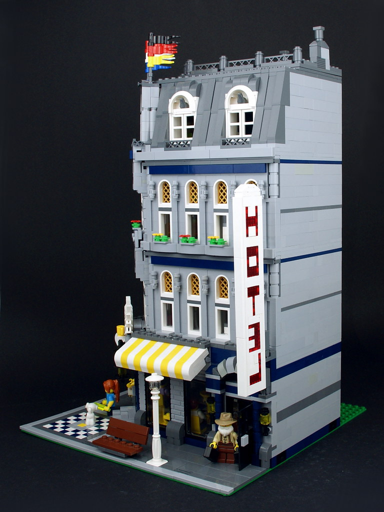 Green Grocer And Corner Cafe Legos