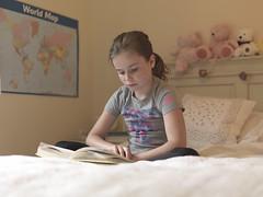 The Reader (Crausby) Tags: portrait girl female mediumformat reading kid education child contemporary nine read hasselblad selftaught literacy mittelformat h3d homeeducated
