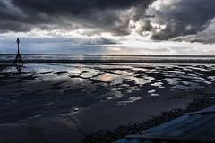 Crosby Beach (tabulator_1) Tags: sunset crosby crosbybeach