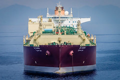 Bu Samra (Richard_Turnbull) Tags: nikon vessel cable gas anchorage bow anchor tanker lng methane supertanker d600 qmax busamra lngc
