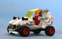 """The """"Dune Ranger"""" (Brizzasbricks) Tags: moon classic lego space dune rover buggy classicspace neoclassicspace"""