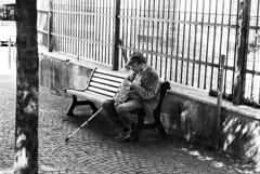 IlGiovediDiDomenico_13 (Naraphotos) Tags: portrait bar hands hand tram oldman mani mano spaghetti autobus ritratto caff reportage domenico sigarette panchina trattoria solitudine rotaie anziano amatriciana stampella gioved tranquilli