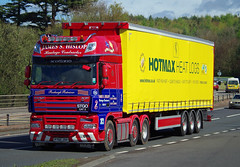 James S Hislop DAF XF P700JSH on the A90, Dundee, 2/5/16 (andyflyer) Tags: truck transport lorry a90 haulage hgv dafxf roadhaulage jamesshislop p700jsh roadtramsport