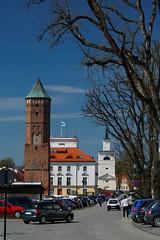 Rynek w Putusku (jacekbia) Tags: city tower architecture canon outdoor poland polska townhall rynek miasto putusk architektura mazowsze ratusz wiea 1100d dzwonnica