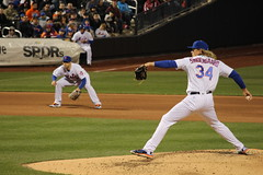 Noah Syndergaard with the pitch for the NY Mets (Hazboy) Tags: noah new york nyc ny game sports field sport baseball queens april thor pitcher mets pitching mlb citi flushing beisbol 2016 hazboy hazboy1 syndergaard