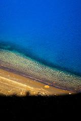 Lac bleu du cratre Viti en Islande (odradek78) Tags: blue lake iceland lac bleu islande viti cratre
