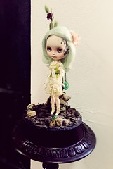 It's a Doll World exhibition by Art_emis (in ADAO) (Art_emis) Tags: world its by photography doll exhibition installation blythe custom artemis adao