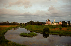 Suzdal Kremlin (pilgrim.ru) Tags: travel sunset vacation church forest river landscape evening russia traditional faith religion grassland suzdal kremlin orthodoxy goldenring easternorthodoxchurch