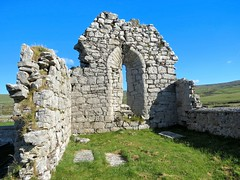2015 The Clare Coast - The Burren (murphman61) Tags: county ireland window coast ruins clare sunny hills clear burren hillside fanore ire anclr anchlir craggagh cillonchan