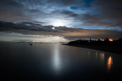 Moonlit Nights (Sean Greenland) Tags: light moon beach night coast photo nikon nightshot explore coastal moonlight flickrexplore