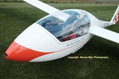 G-CJRM Grob G102 Astir CS (SPRedSteve) Tags: glider sailplane shobdon grob seighford astir g102 astircs gcjrm