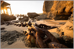 Chained (proberts91x) Tags: seascape sunrise chain centralcoast catherinehillbay