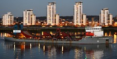 City of Westminster @ Gallions Reach 17-04-16 (AJBC_1) Tags: uk england london night boat ship unitedkingdom vessel shipping riverthames eastlondon shipsatnight gallionsreach dredger nikond3200 northwoolwich newham cityofwestminster londonboroughofnewham tarmacltd ukshipping dlrblog ajc shipsinpictures crhplc