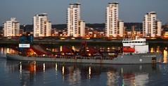 City of Westminster @ Gallions Reach 17-04-16 (AJBC_1) Tags: uk england london night boat ship unitedkingdom vessel shipping riverthames eastlondon shipsatnight gallionsreach dredger nikond3200 northwoolwich newham cityofwestminster londonboroughofnewham tarmacltd ukshipping dlrblog ajc shipsinpictures crhplc