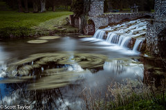 Lake Outflow (Scrufftie) Tags: longexposure canon chilterns buckinghamshire nationaltrust lightroom westwycombe ndfilter gitzotripod canonef24105mmf4lisusm formatthitechfilters canon5dsr formatthitechndfilter