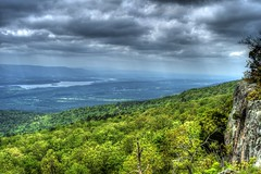 Blue Mountian Lake From Magazine Mountian (DusterG20) Tags: forest magazine landscape lakes scenic mountians