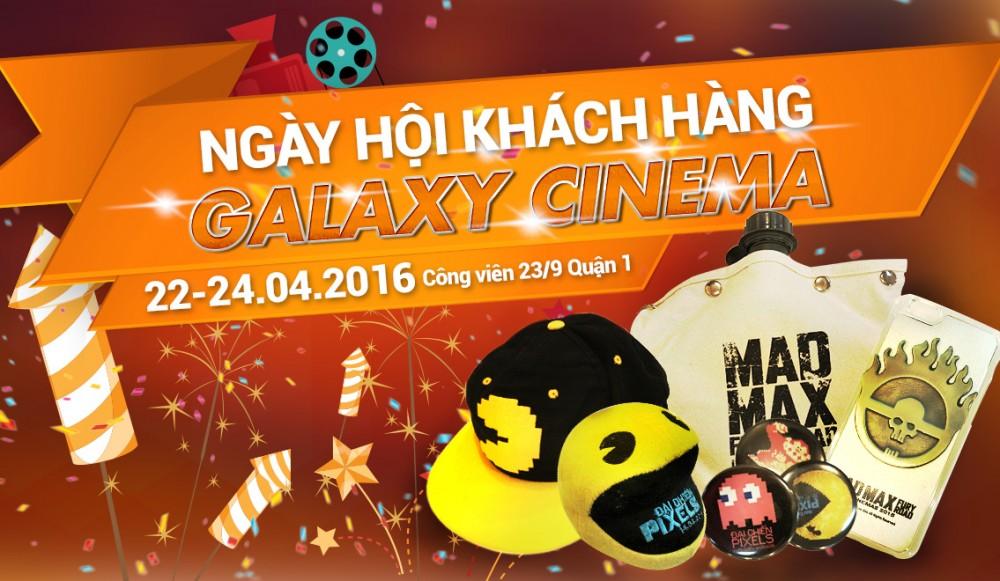 Cơ Hội Nhận Hơn 2000 Phần Quà Hấp Dẫn Từ Galaxy Cinema