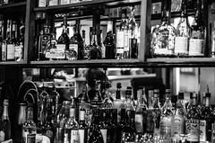 The Bar (jeffreymbhibbard) Tags: seattle city sunset food art bar restaurant harbor nikon cityscape place wine professional jeffrey mb waiter pigalle hibbard d7000 nikond7000