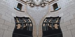 A12439 / architectural details: cutout, twirled and symmetricized (janeland) Tags: sanfrancisco california distortion cutout architecturaldetail september financialdistrict twirl shellbuilding 2015 94104 pe0 100bushstreet symmetricized