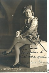 TAYENNE, Madeleine, Siebel, Faust (Operabilia) Tags: opra autographe faust monnaie gounod sibel claudepascalperna madeleinetayenne