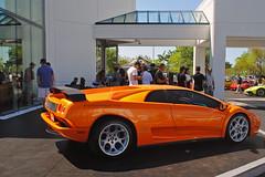 Diablo 6.0 (Infinity & Beyond Photography) Tags: auto orange car automobile florida exotic diablo lamborghini arancio supercar 60 sportscar