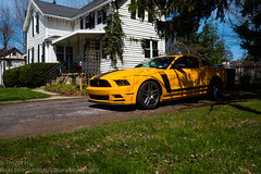 Mustang BOSS 302 1 (Kenjis9965) Tags: leica boss ford beautiful car saturated panasonic micro mustang 50 summilux 15mm 302 43 gx8 f17 leica15mmf17