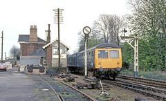 Mistley (Lost-Albion) Tags: 1983 essex britishrail ger cravens lner dmu mistley
