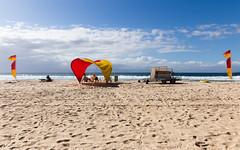 Narooma Beach Patrol (Rambo2100) Tags: ocean cloud beach sand surf wave australia nsw newsouthwales lifesaving narooma beachpatrol rambo2100