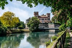 Italy, Veneto, Treviso, 30_04_2016-6876 (carlessomario) Tags: italy castle water river fiume mura castello treviso veneto sile fortificazioni