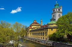 Munich photowalk (werner boehm *) Tags: architecture munich isar mllerschesvolksbad wernerboehm