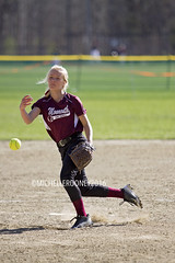 IMG_9228eFB (Kiwibrit - *Michelle*) Tags: school girls game sports team mms maine monmouth softball middle 2016 halldale 042816