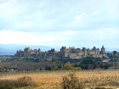 cit de Carcassonne 2 (lili212.morel) Tags: cit nuage paysage loin carcassonne