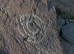 Petroglyph / Blackrock Well Site (Ron Wolf) Tags: california archaeology spiral nationalpark nativeamerican salinevalley petroglyph anthropology shoshone rockart deathvalleynationalpark piute numic