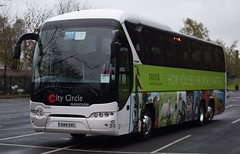 OU14SVC  City Circle, Edinburgh (highlandreiver) Tags: city bus london circle coach edinburgh cumbria hayes carlisle coaches neoplan svc tourliner ou14 ou14svc