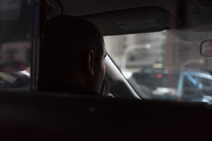 traffic (AlexHayes) Tags: lighting city morning light urban chicago man face car contrast digital person photography illinois spring weed drink outdoor cab taxi smoke sony indoor stranger il liquor busy voyeur rush commute april rushhour dslr cigarettes taxicab ganja hectic mirrorless a7r
