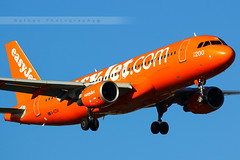 TLS - Airbus A320-214 (G-EZUI) EasyJet (Aro'Passion) Tags: orange canon photography airport photos landing airbus toulouse blagnac tls a320 livery aroport natw 60d a320214 lfbo aropassion gezui