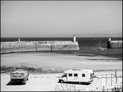 20130719-965 (sulamith.sallmann) Tags: ocean bw france port frankreich wasser europa harbour atlantic waters sw normandie hafen manche fra harbours atlantik schifffahrt ozean lahague bassenormandie gewsser hfen dielette schiffsverkehr sulamithsallmann