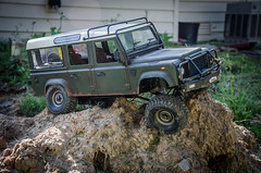 Gelande 2 D110 (Strangely Different) Tags: scale hobby landrover rc radiocontrolled crawler rc4wd rceveryday