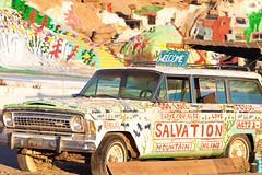 Jesus Loves You (Thomas Hawk) Tags: california usa unitedstates jeep unitedstatesofamerica saltonsea salvationmountain slabcity imperialcounty niland fav10 fav25