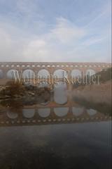 40080166 (wolfgangkaehler) Tags: bridge france water fog french europe european roman foggy bridges unescoworldheritagesite aqueduct nimes pontdugard fogbank aqueducts southernfrance 2016 1stcenturyad gardonriver garddepartment