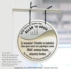 Kerim Kuran Cuma (Oku Rabbinin Adiyla) Tags: god muslim religion pray bible friday salat allah quran cuma namaz ayah kuran