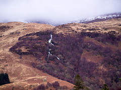Storm Rolling In (marcritchie) Tags: trees winter snow storm mountains clouds outdoors scotland waterfall heather loch benlomond lochlomond hillwalking rowardennan visitscotland