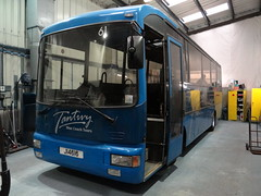 Tantivy 61 (Coco the Jerzee Busman) Tags: uk blue bus islands coach jersey channel tantivy