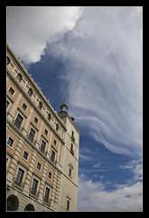Alczar de Toledo @Toledo (brunombo) Tags: tamronaf18250mmf3563diiildasphericalifmacro tamron pentax justpentax viaggio travel piacere leisure spagna spain toledo alczardetoledo alczar cielo sky azzurro blu blue nuvole clouds