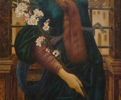 Burne-Jones, Hope (detail)