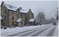 Drovers Inn (Ben.Allison36) Tags: snow hotel scotland inn loch blizzard lomond drovers inveranan