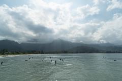 Hanalei Bay, Kauai (balut) Tags: ocean mountain hawaii kauai hanaleibay
