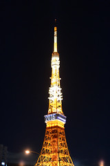DSC_1655 (Zengame) Tags: tower japan architecture tokyo nikon df illumination landmark illuminated jp  tokyotower  nikkor      afs58mmf14g afsnikkor58mmf14g