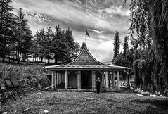 A little Tale of Cherries and the Serpent Temple at Tani Jubber (Anoop Negi) Tags: travel india white black monochrome temple photography photo cobra serpent anoop bnw himachal tani pradesh negi nag narkanda kotgarh tanni devta ezee123 naag jubber thanedhar jubbar